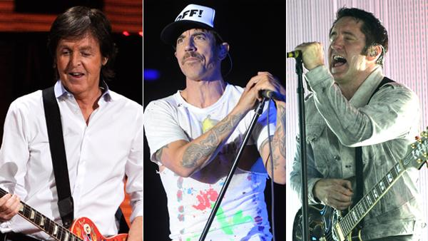 Paul McCartney, Red Hot Chili Peppers, Nine Inch Nails to Headline Outside Lands