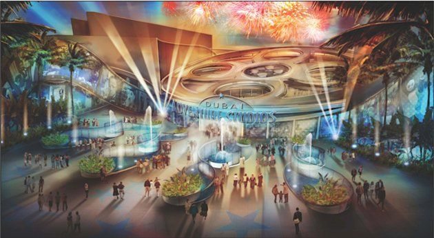 Dubai plans to build a 10 billion dirham ($2.7 billion) complex of five theme parks, including one focused on India's Bollywood cinema industry, to expand its booming tourism sector. Photo: Meeras Holding