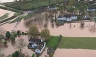 Flood Threat As Heavy Rain Hits South Coast