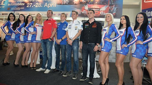 WTCC - WTCC and ETCC drivers at Slovak Auto Show