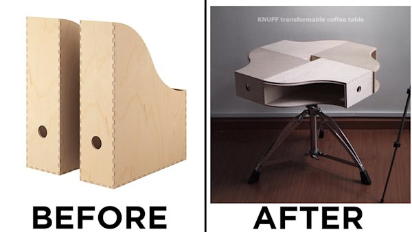 Transforming ikea furniture into high end designs on a for Transform ikea furniture