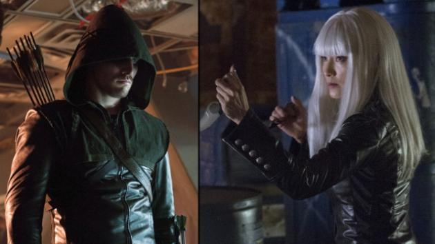 Stephen Amell as Arrow, Kelly Hu as China White -- The CW