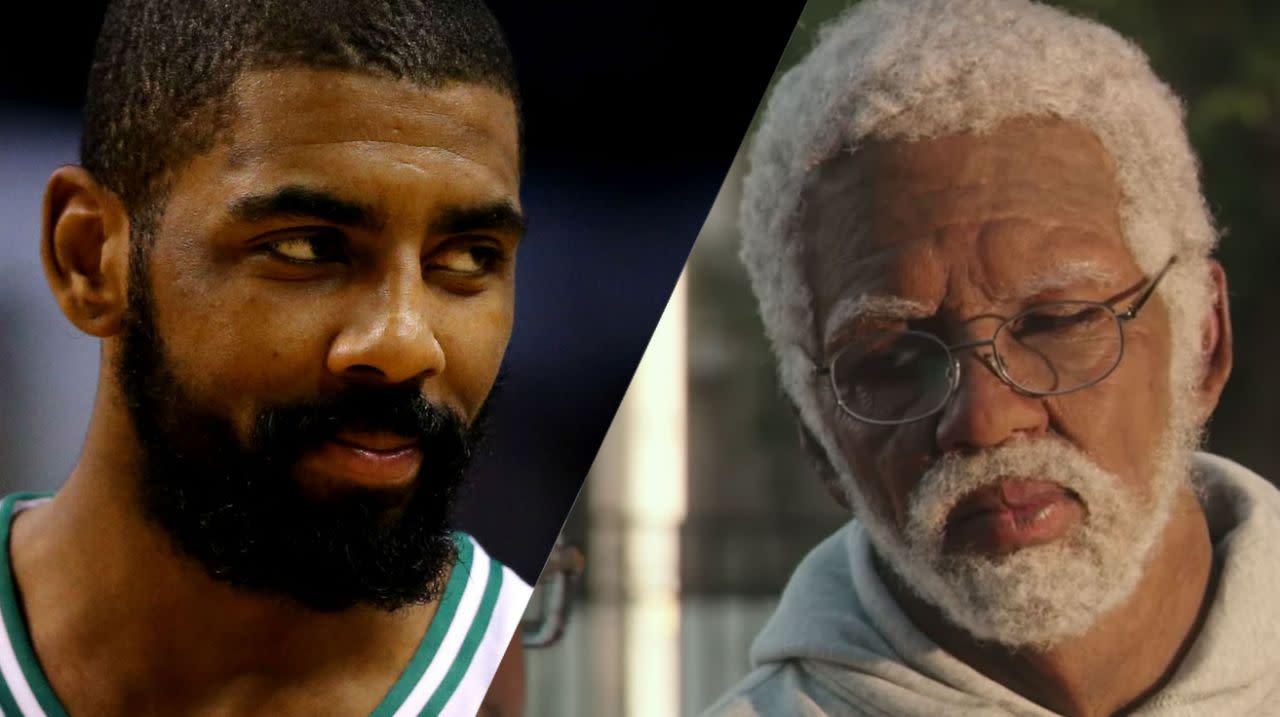 <p>07.《德魯大叔》凱瑞厄文:特效化妝團隊使出了渾身解數,好讓NBA球星凱瑞厄文在片中化身為德魯大叔一角。 </p>