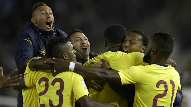 Argentina 0-2 Ecuador: Visitors stun Copa America finalists in World Cup qualifying