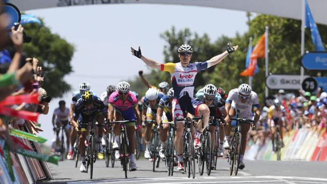 Cycling - Greipel sets Down Under record with victory