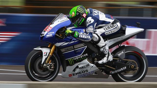 Motorcycling - Lorenzo takes pole at Australian Grand Prix
