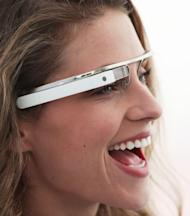 A concept design for Google's Project Glass augmented reality glasses