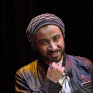 Making hip hop in Saudi Arabia is a bit of a tightrope act, says Qusai Kheder (pictured in Paris, on November 2), self-styled ambassador for the genre who has built a niche following for his sex-and-violence free brand of rap music
