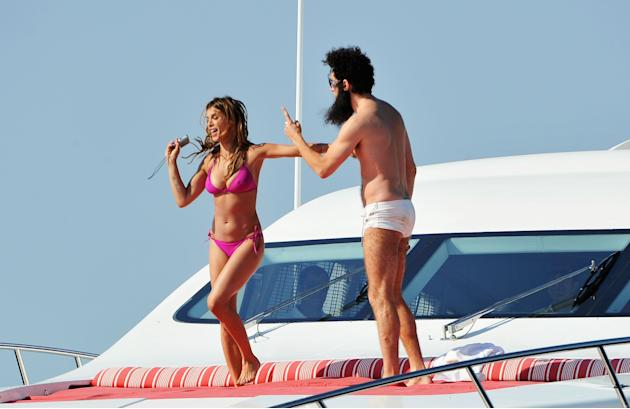 """""""THE DICTATOR"""" Cannes Sighting - 65th Annual Cannes Film Festival"""