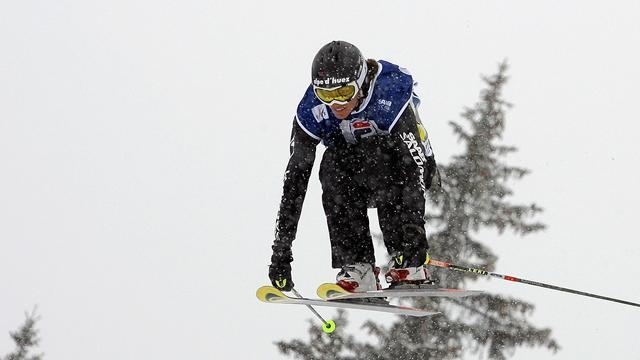 Freestyle Skiing - Ski cross wins for David and Kraus