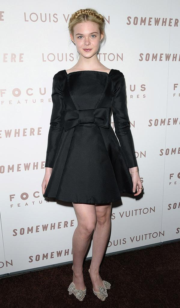 Somewhere LA Premiere 2010 Elle Fanning