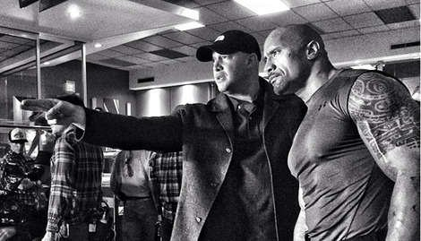 Has The Rock hinted at a Green Lantern appearance?