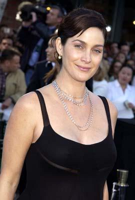 Premiere: Carrie Anne Moss of Memento at the Hollywood premiere of Warner Brothers' The Matrix: Reloaded - 5/7/2003
