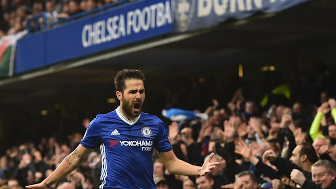 AC Milan preparing £27m bid for Chelsea's Cesc Fabregas as Manchester United monitor situation