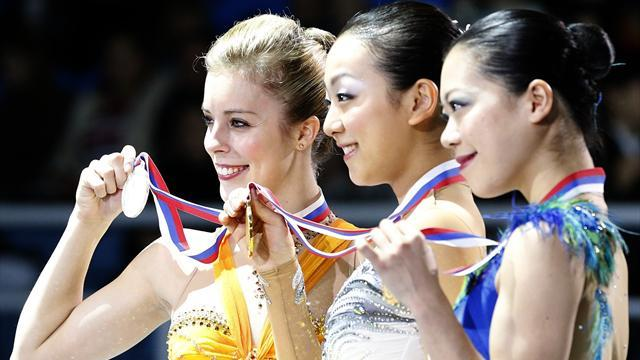 Figure Skating - Asada wins third Grand Prix title