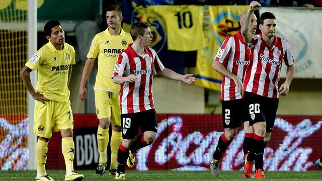 Liga - Champions League hopefuls Athletic Bilbao held at Villarreal