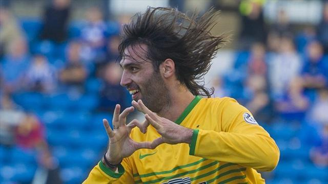 Scottish Football - Celtic ready for Barca - Samaras