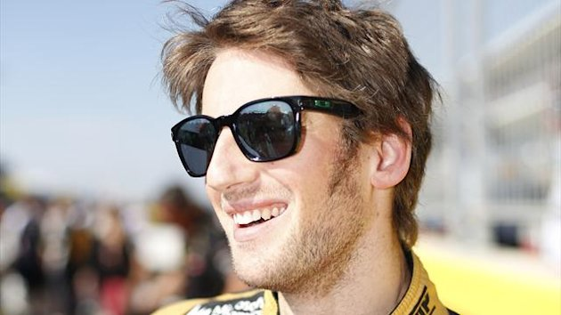 Lotus' Romain Grosjean