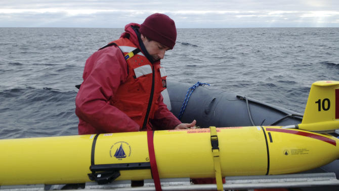 Robots find rare whales in weather humans can't