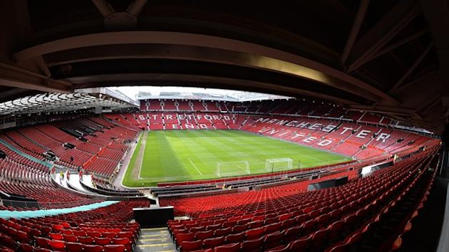 Manchester United's Old Trafford stadium (Reuters)