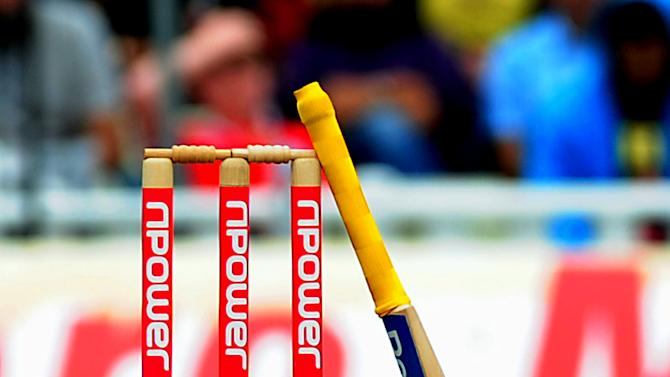 The six umpires accused of match mixing by an Indian TV station have been suspended