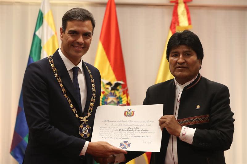 La cooperación española entrega una importante planta de agua en Bolivia