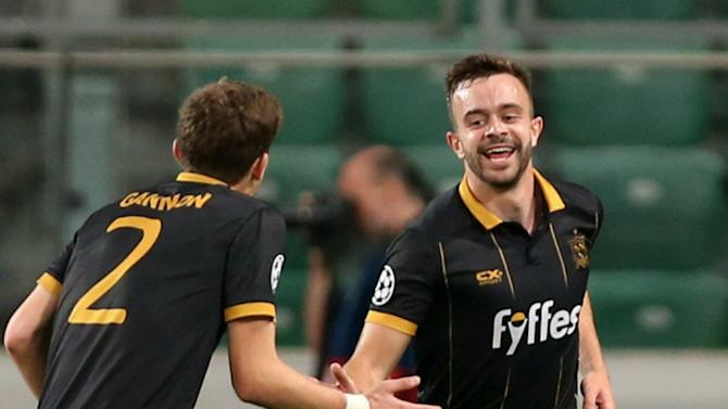 Robbie Benson 'very disappointed' after Champions League exit