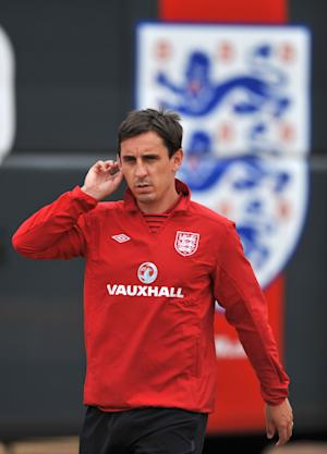 Gary Neville believes England might benefit from the World Cup qualifier with San Marino if they have negative thoughts
