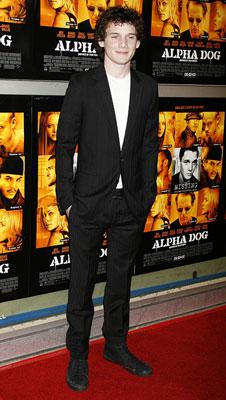 Anton Yelchin at the Hollywood premiere of Universal Pictures' Alpha Dog