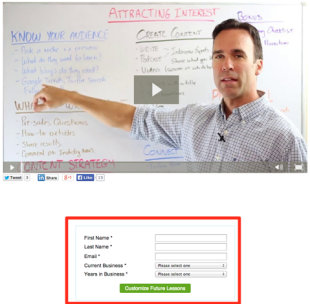 How to Create an Automated Follow Up System image trent dyrsmid web form