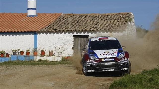 WRC - Novikov pulls away in Greece