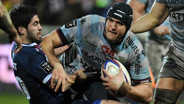 Top 14 - Racing Metro slump to defeat against Begles
