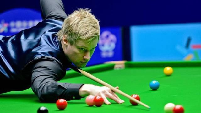 Snooker - Robertson beats Higgins in Wuxi Classic final