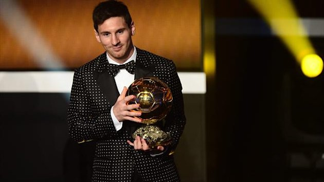 2013 Ballon d'Or Lionel Messi