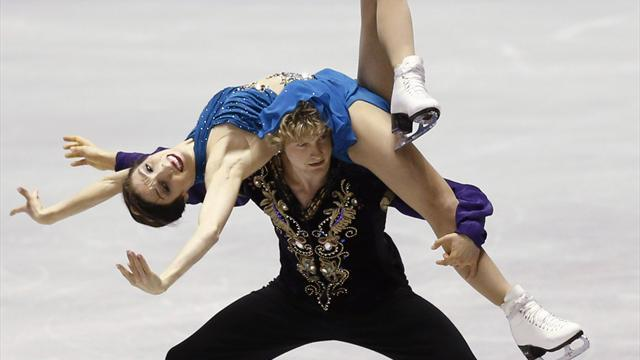 Figure Skating - Davis and White seek gold finale