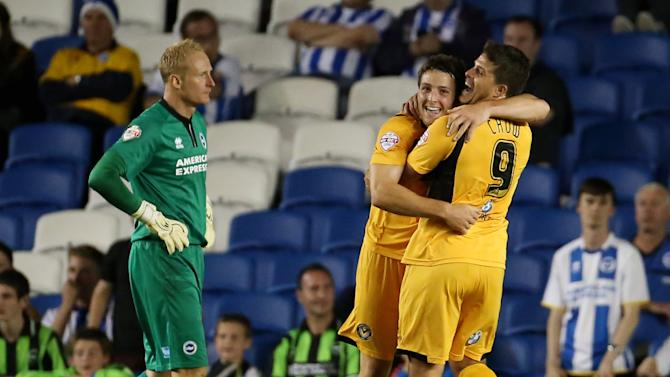 Soccer - Capital One Cup - First Round - Brighton and Hove Albion v Newport County - AMEX Stadium
