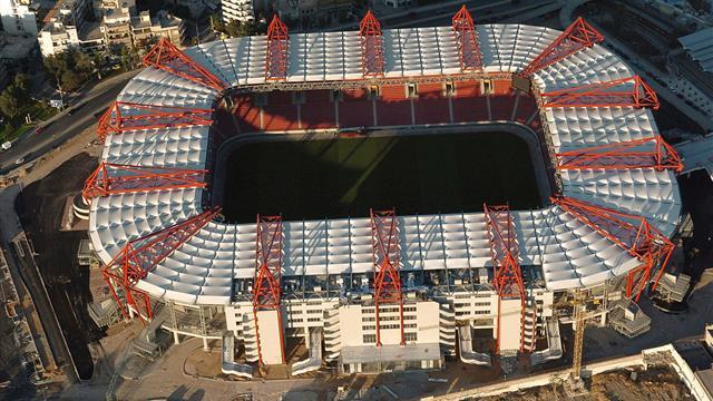 Champions League - Olympiacos handed partial stadium closures for United clash