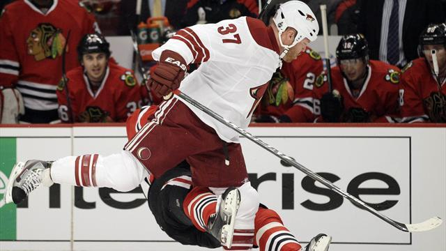 Coyotes' Torres suspended for 21 games for NHL playoff hit