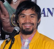 Philippine boxing icon Manny Pacquiao, pictured on June 16, Pacquiao said Thursday that a WBO panel ruling that he had won his controversial bout against Timothy Bradley would help restore people's faith in the sport