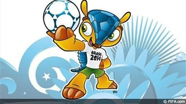 Brazil chooses armadillo as World Cup mascot