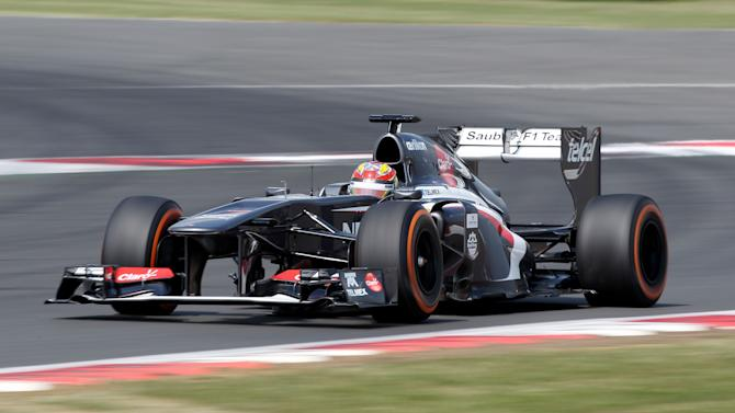 Formula 1 Young Drivers Test - Silverstone