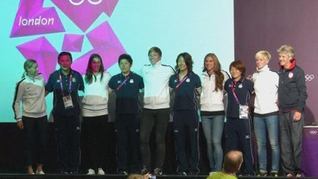 Olympic Games (W) - USA and Japan primed for Olympic football final