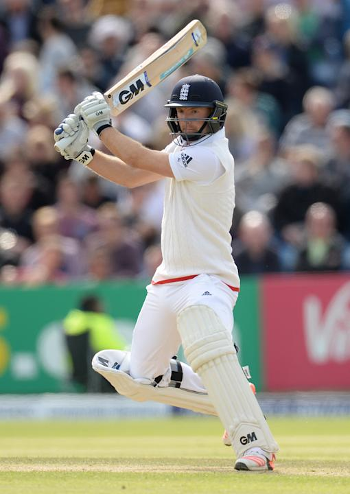 CRIC: England's Adam Lyth in action