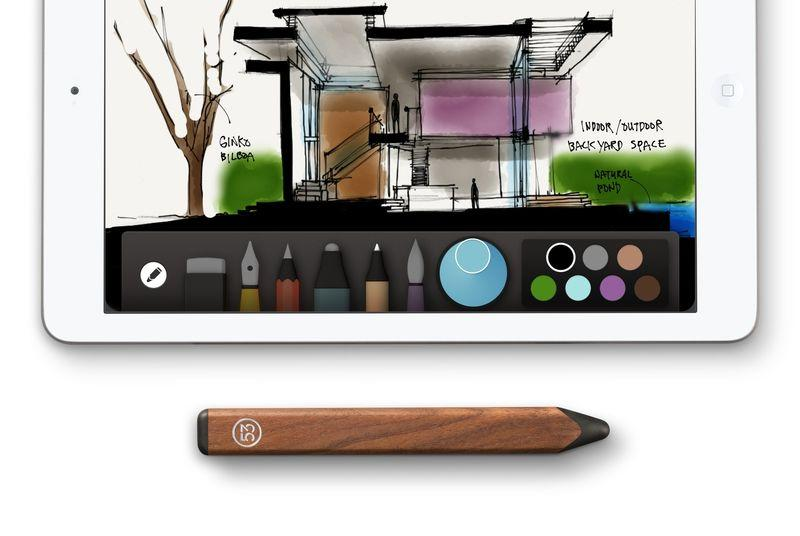 OneNote for iPad gets Pencil by FiftyThree support