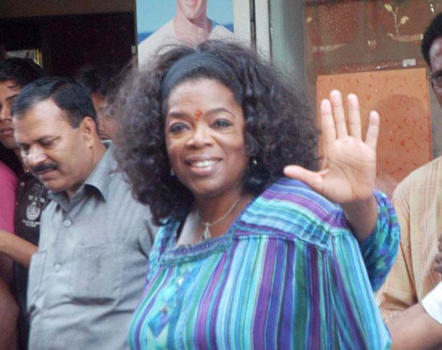 Baby B to be 'revealed' to public at an Oprah scoop