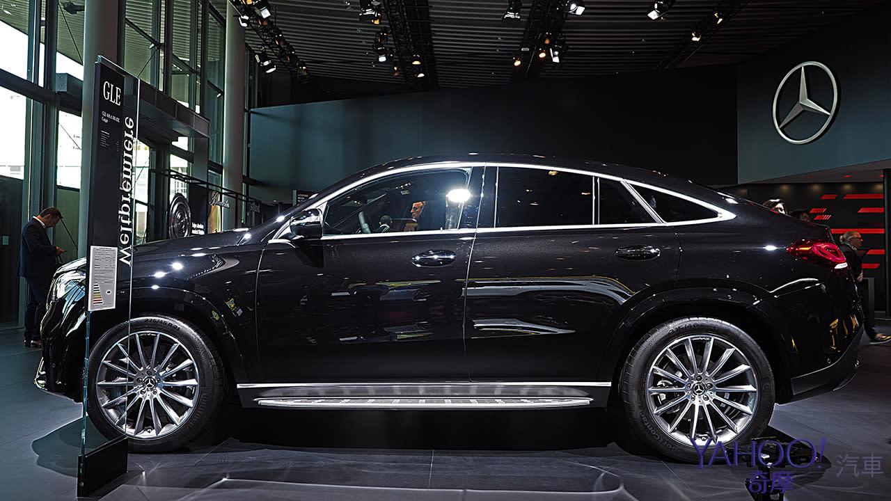 【2019法蘭克福車展】Mercedes-Benz第2代GLE Coupé展現跑格硬實力