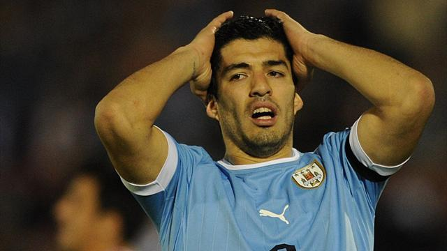 World Cup - Suarez in race to make Brazil after shock surgery