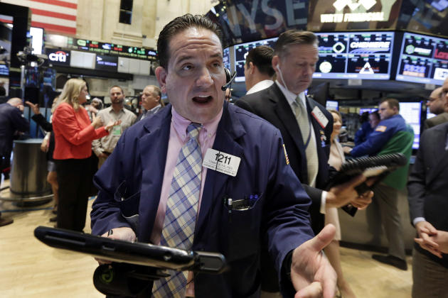 US stocks end sharply higher after Chinese market surges
