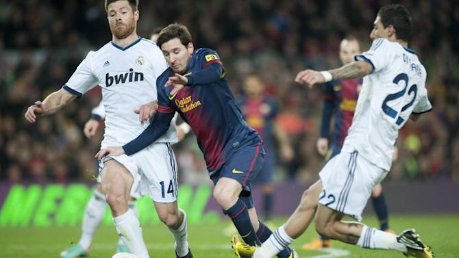 Liga - Xabi Alonso wishes Di Maria good luck at Manchester United