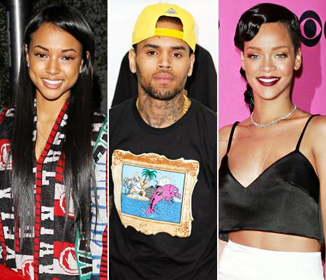 "Karrueche Tran Speaks Out on Chris Brown, Rihanna: It's Been a ""Rollercoaster"""